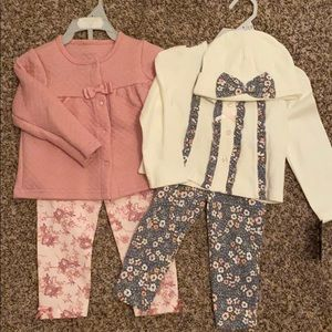 NWT- Baby Matching Sets